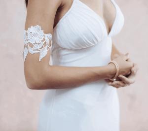 Boho armbands - rose