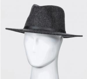 Men's Felt Fedora Hat
